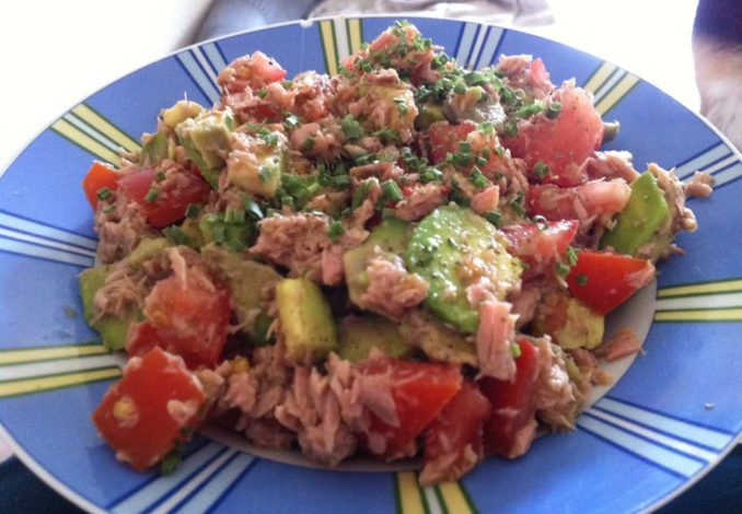 Avocado Thunfisch Salat