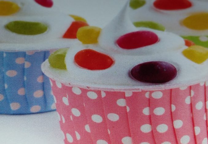 Jelly Beans-Cupcakes