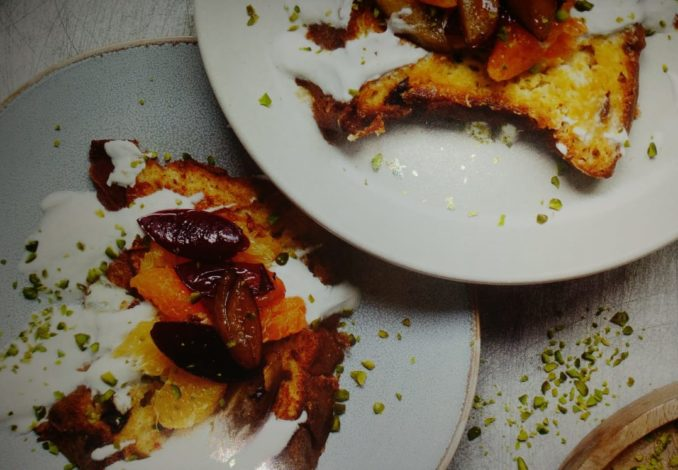 French Toast mit Panettone