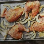 Marokkanisches Huhn mit Oliven-Topping